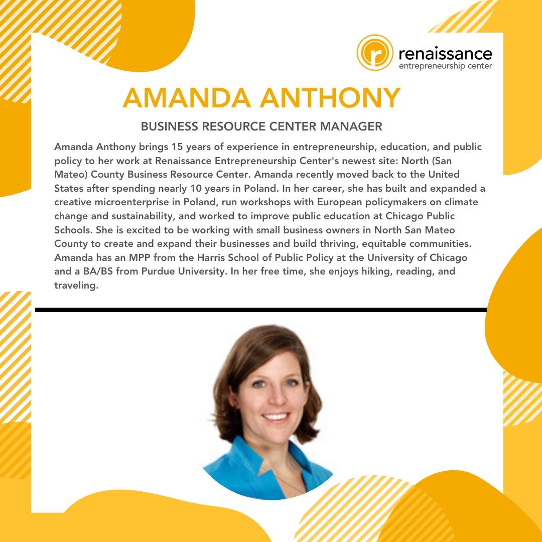 Chamber Partnership with Amanda Anthony.