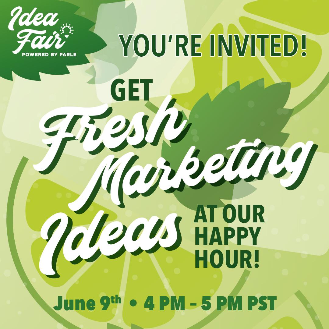 June 9th Fresh Idea Webinar