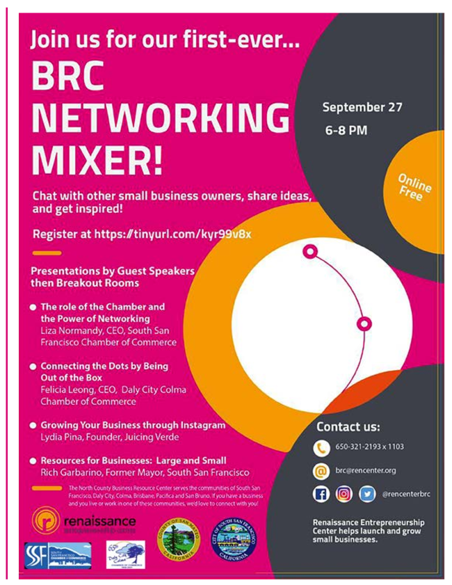 BRC Networking 9272021 6 to 8pm Network and Collaborate