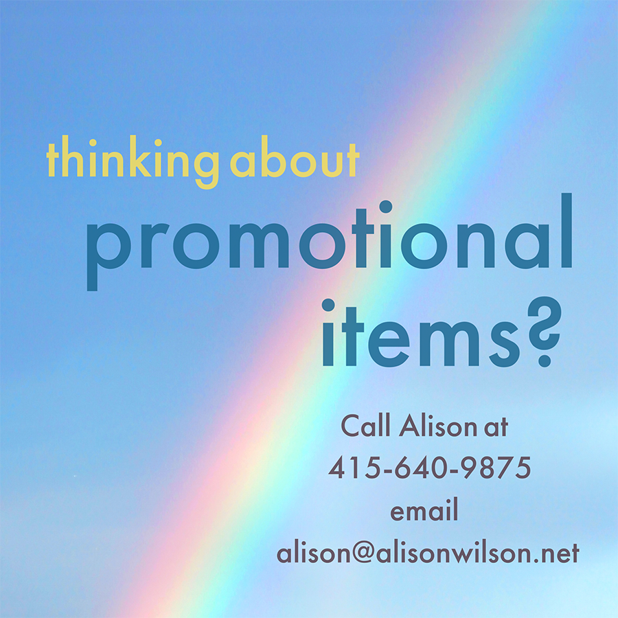 Alison Wilson Comm - Promotional Items
