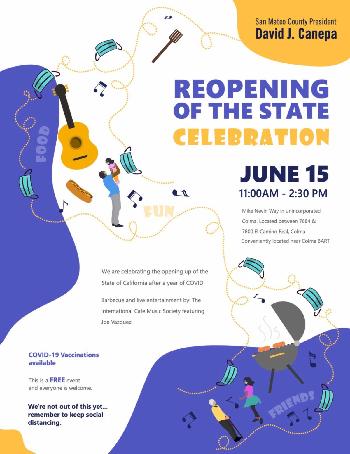 Opening June 15th Celebration
