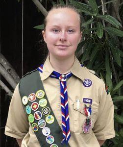 Eagle Scout Alexandra R.