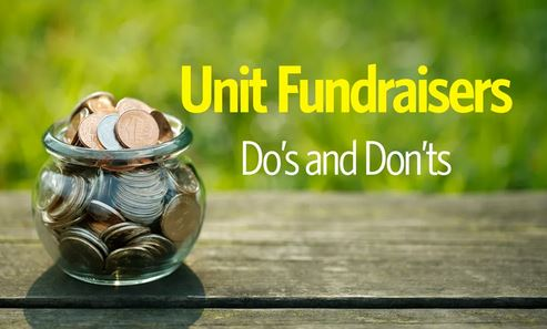 Unit Fundraiser guide graphics