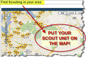 BeAScout map
