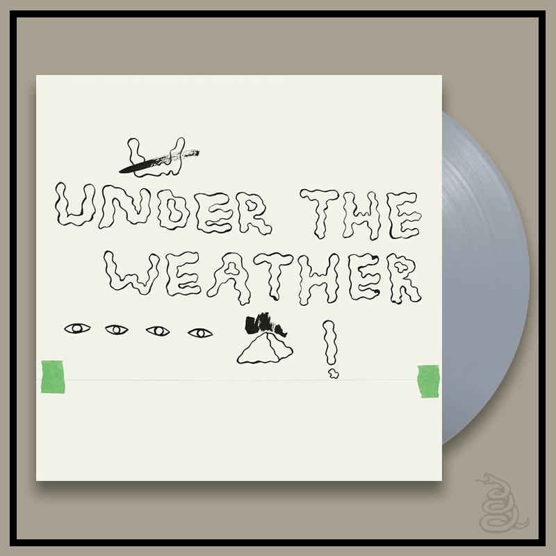 HOMESHAKE_UNDER THE WEATHER_GREY LP