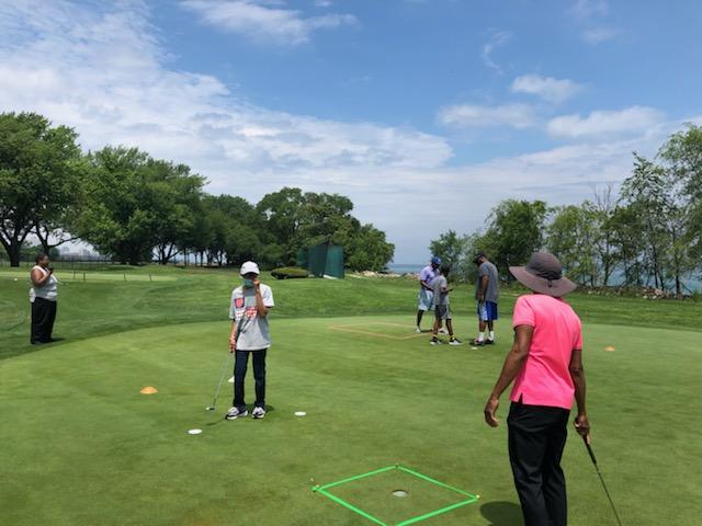 Golf in motion