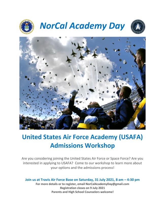 NorCal USAFA Day 2021