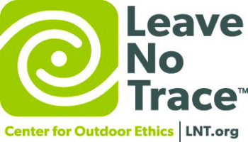 Graphic for the Center for Outdoor ethics promoting Leave No Trace.