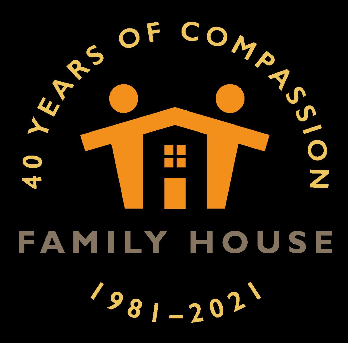 40th Anniversary Family House logo