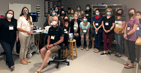 Diagnostic Musculoskeletal Ultrasound class photo August 2021