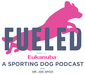 Fueled: A Sporting Dog Podcast logo