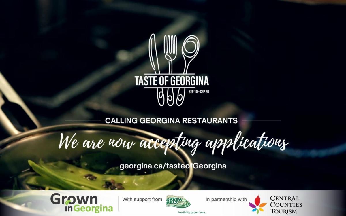 Taste of Georgina application