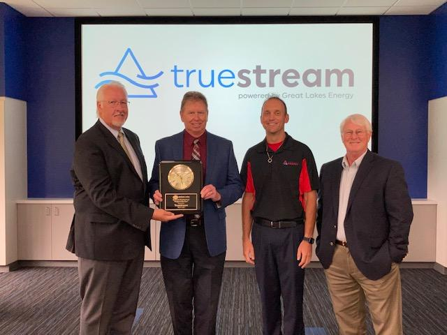 NLEA awarding Truestream Project of the Year