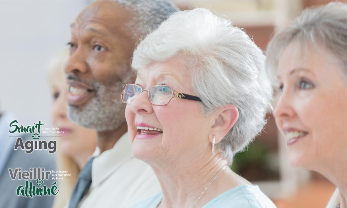 Banner for Smart Aging and link to wait list