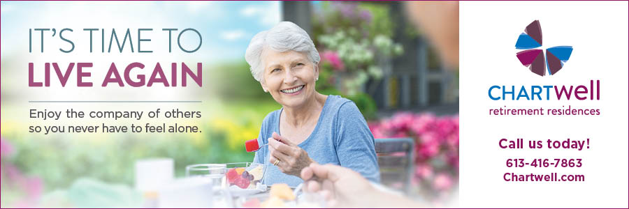 Chartwell retirement residences time to live again ad and link